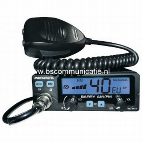 President BARRY AM/FM *3-COLOR DISPLAY