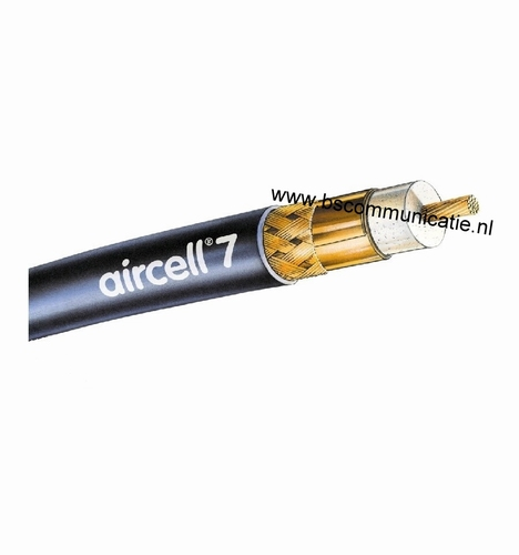 coax Kabel Aircell 7  Per meter