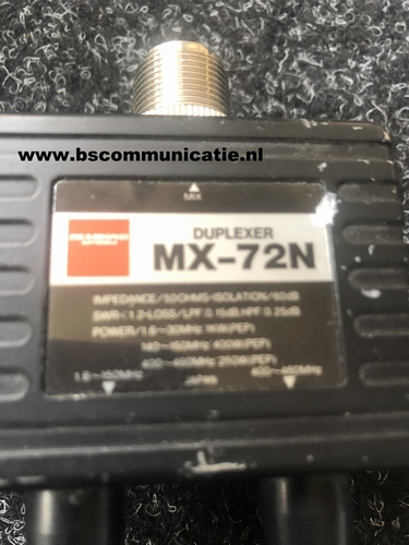 Diamond Duplexer MX 72N