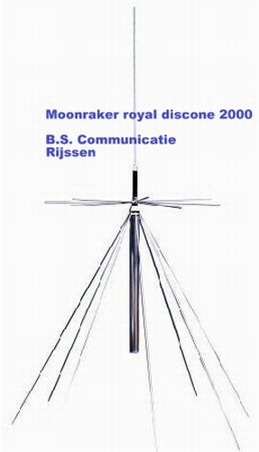 Scan King Royal Discone 2000 Antenne.