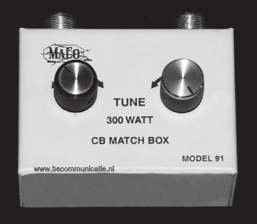 Maco 91 Antenne Matcher Matchbox